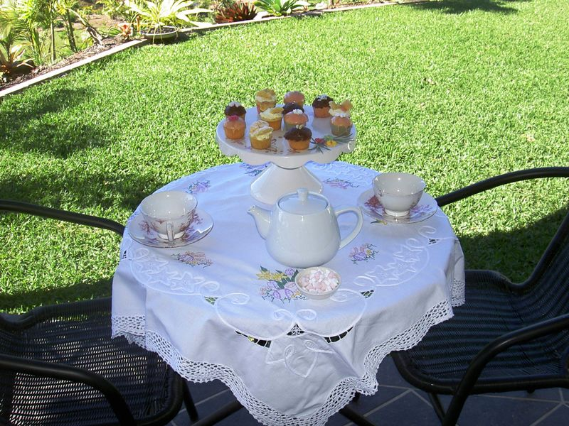 Quilts and High tea pics 001