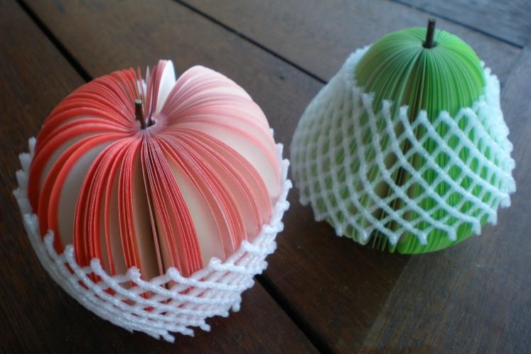 Fruit notepads blog