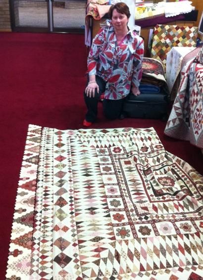 Karen Styles new quilt