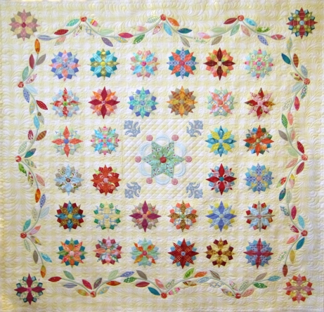 Jenni Samuels Under the Southern Stars quilt