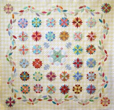 Jenni Samuels Under the Southern Stars quilt