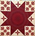 Leonie Ruby Red Quilt